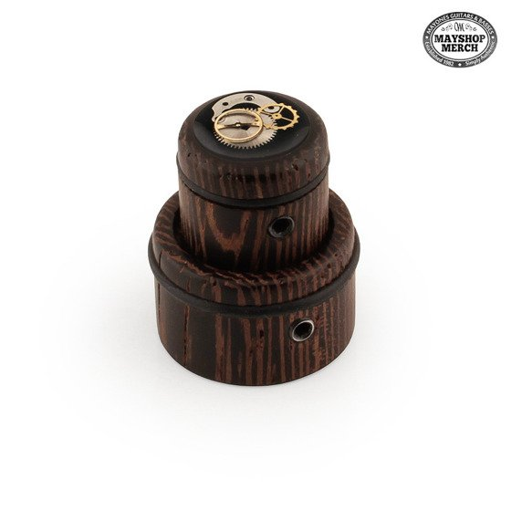 Wooden, stacked knob - Clockwork