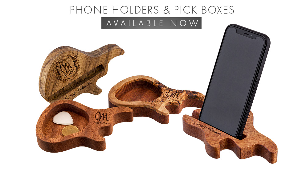 Wooden pick boxes & phone holders