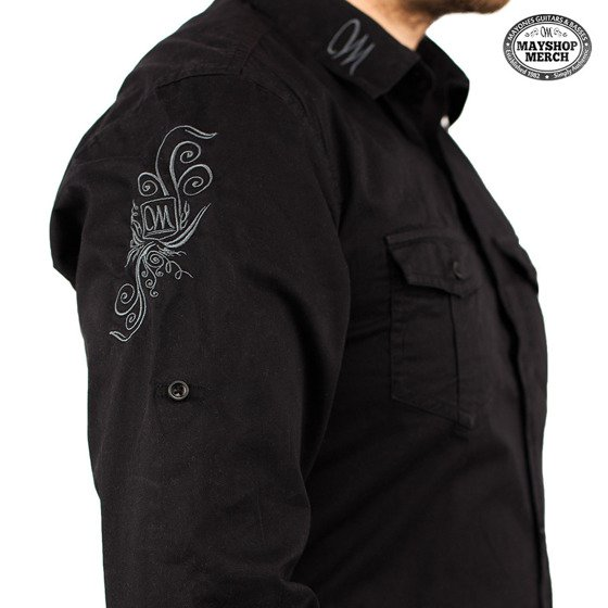 Mayones Shirt - Embroidered Mayones logo -Black