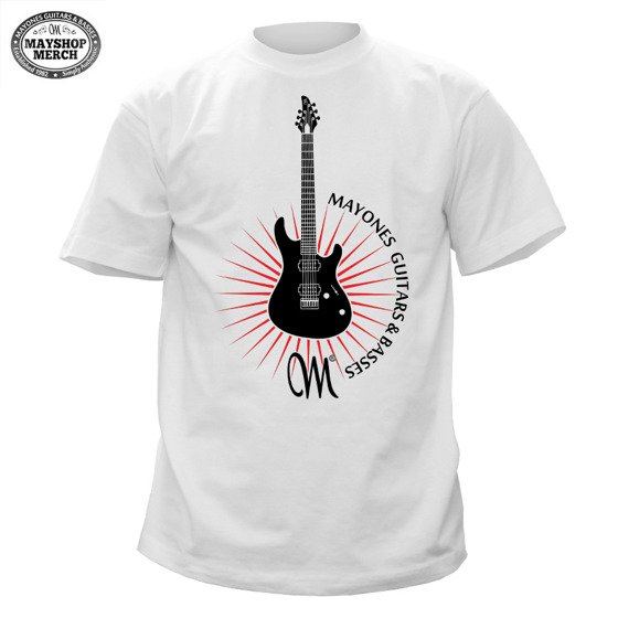 Mayones Guitar Star T-shirt - White