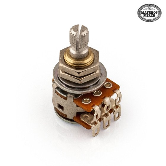 Potentiometer Balance - 250K - for  Aquilar OBP-3 preamp