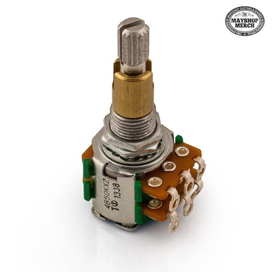 Potentiometer treble/bass - 50K - for Aquilar OBP-3 preamp